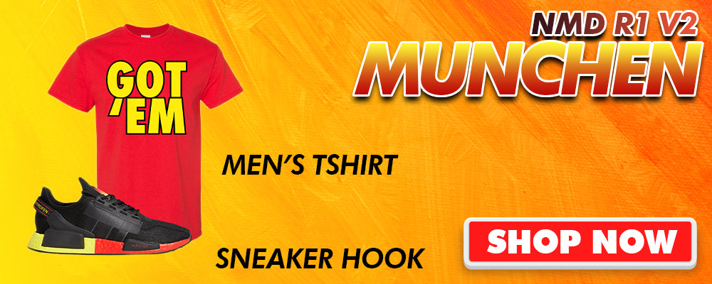 NMD R1 V2 Munchen T Shirts to match Sneakers | Tees to match Adidas NMD R1 V2 Munchen Shoes
