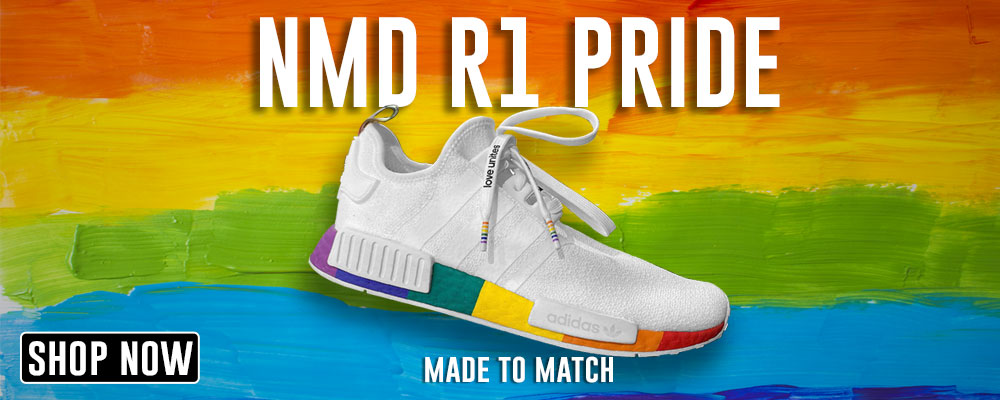 NMD R1 Pride Clothing to match Sneakers | Clothing to match Adidas NMD R1 Pride Shoes