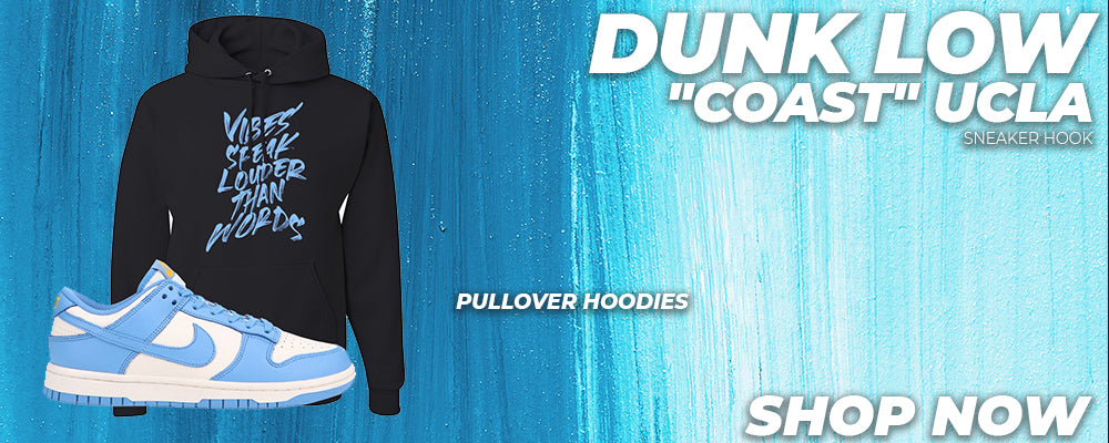 Dunk Low 'Coast' UCLA Pullover Hoodies to match Sneakers | Hoodies to match Nike Dunk Low 'Coast' UCLA Shoes