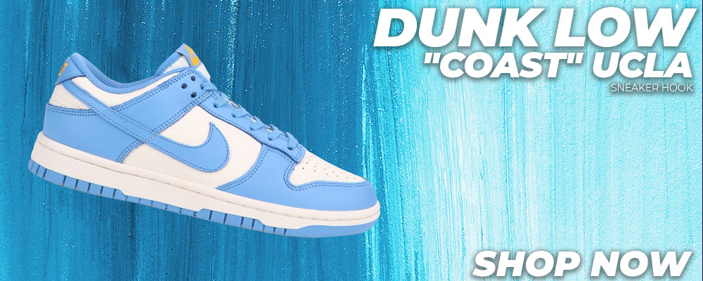 Dunk Low 'Coast' UCLA Clothing to match Sneakers | Clothing to match Nike Dunk Low 'Coast' UCLA Shoes