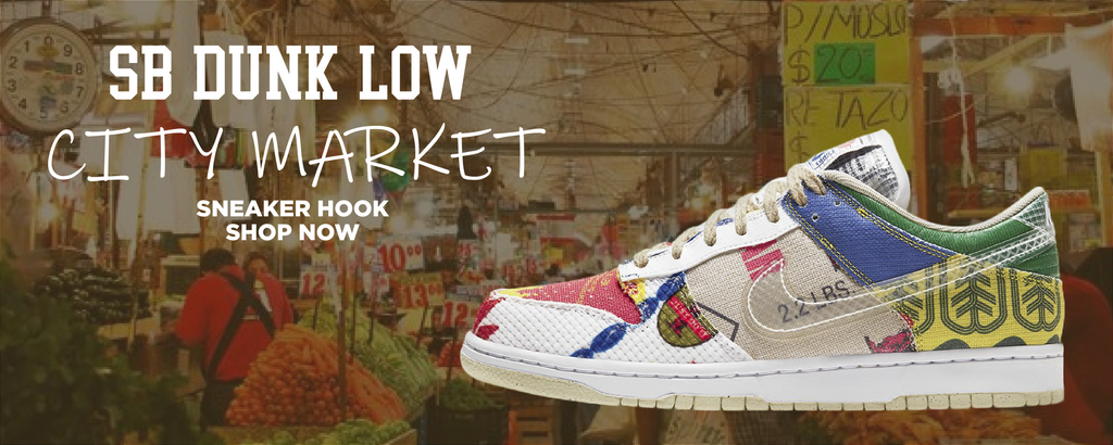 SB Dunk Low City Market Clothing to match Sneakers   Clothing to match Nike SB Dunk Low City Market Shoes