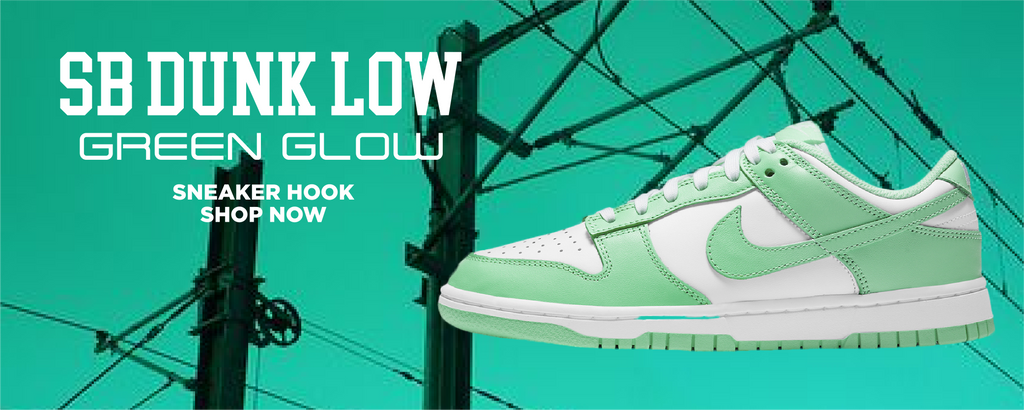 SB Dunk Low Green Glow Clothing to match Sneakers | Clothing to match Nike SB Dunk Low Green Glow Shoes