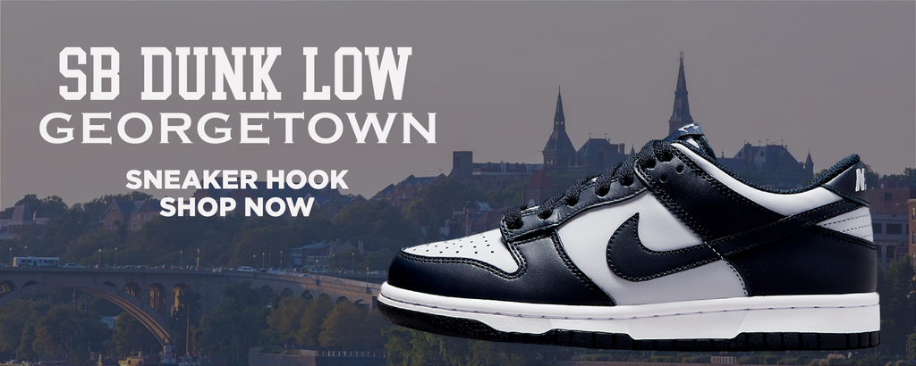 SB Dunk Low Georgetown Clothing to match Sneakers | Clothing to match Nike SB Dunk Low Georgetown Shoes