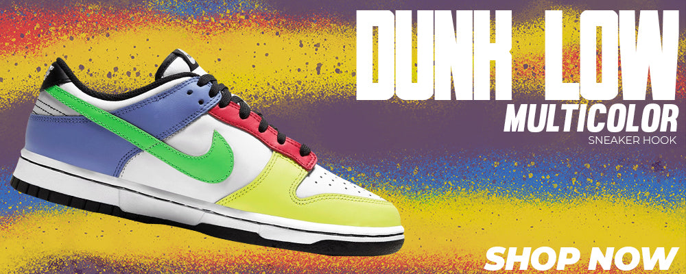 Dunk Low Multicolor Clothing to match Sneakers | Clothing to match Nike Dunk Low Multicolor Shoes