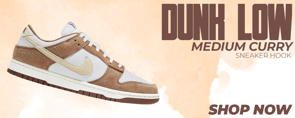 Dunk Low Medium Curry Clothing to match Sneakers | Clothing to match Nike Dunk Low Medium Curry Shoes