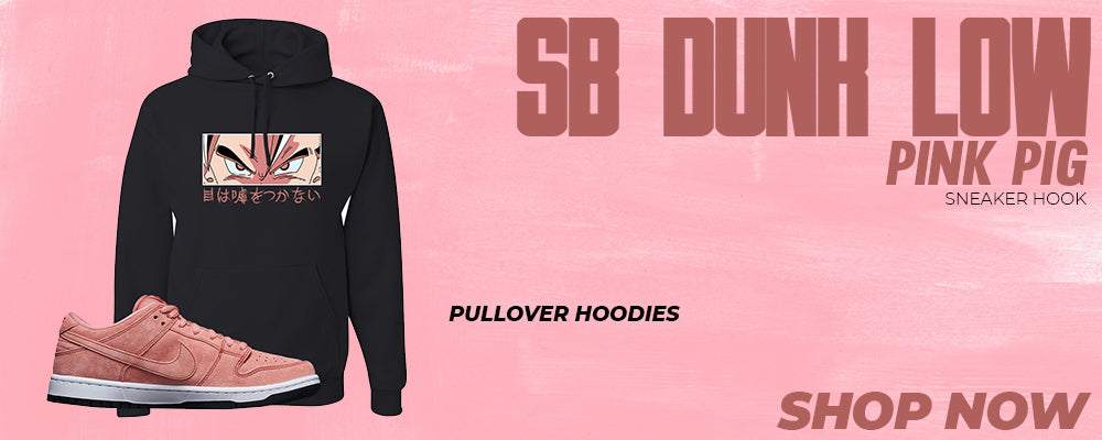 SB Dunk Low Pink Pig Pullover Hoodies to match Sneakers | Hoodies to match Nike SB Dunk Low Pink Pig Shoes