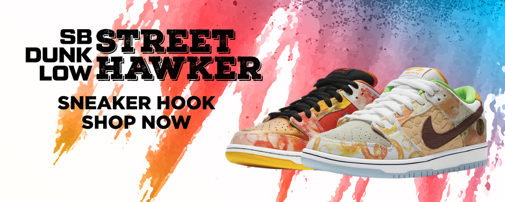 SB Dunk Low Street Hawker Clothing to match Sneakers | Clothing to match Nike SB Dunk Low Street Hawker Shoes