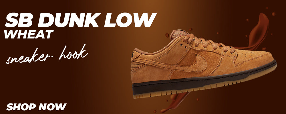 SB Dunk Low Wheat Clothing to match Sneakers   Clothing to match Nike SB Dunk Low Wheat Shoes