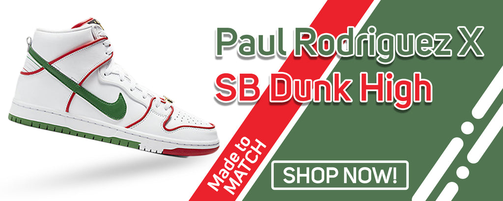 Paul Rodriguez's SB Dunk High Clothing to match Sneakers | Clothing to match Paul Rodriguez's Nike SB Dunk High Shoes