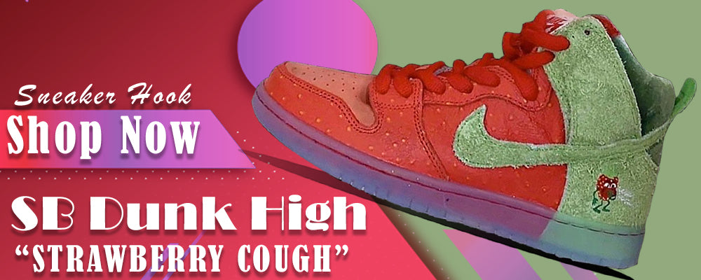 SB Dunk High Strawberry Cough Clothing to match Sneakers | Clothing to match  Nike SB Dunk High Strawberry Cough Shoes