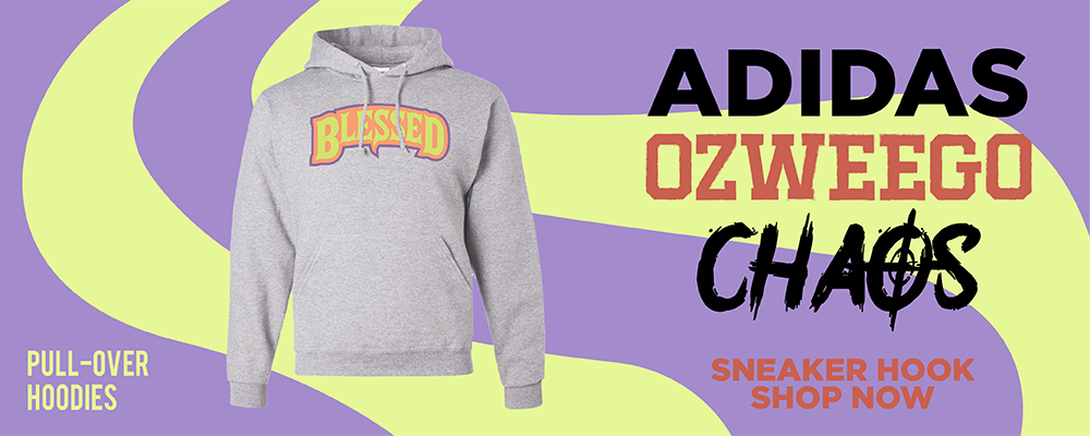 Ozweego Chaos Pullover Hoodies to match Sneakers | Hoodies to match Adidas Ozweego Chaos Shoes
