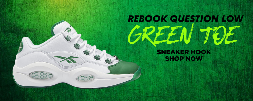 Question Low Green Toe Clothing to match Sneakers | Clothing to match Reebok Question Low Green Toe Shoes