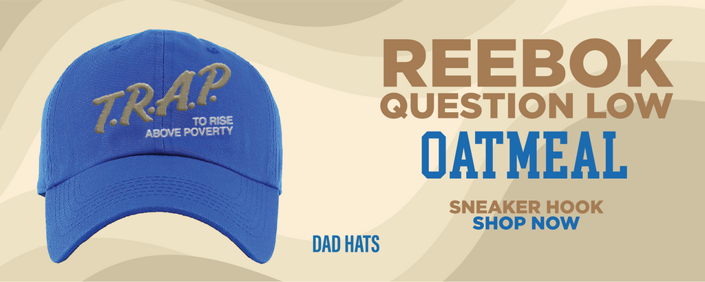 Question Low Oatmeal Dad Hats to match Sneakers | Hats to match  Reebok Question Low Oatmeal Shoes