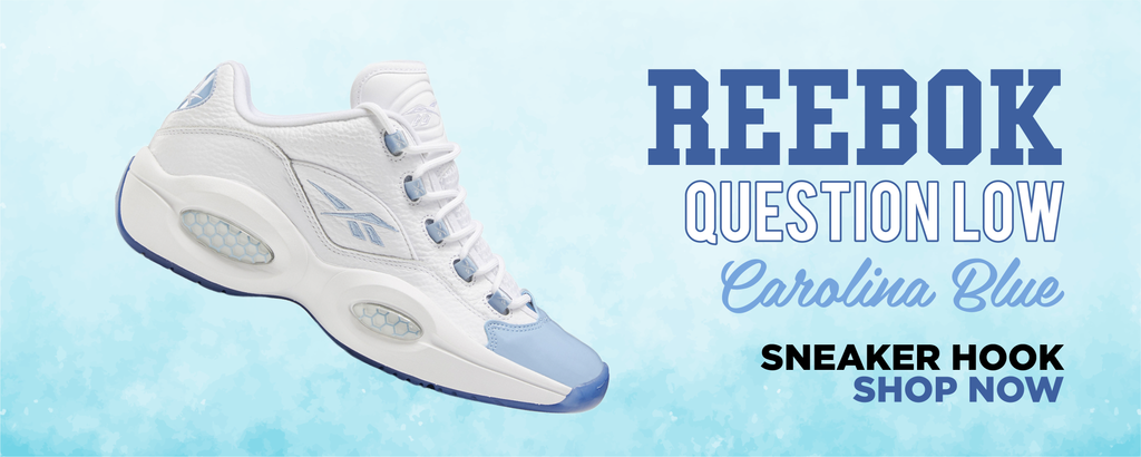 Question Low Carolina Blue Clothing to match Sneakers | Clothing to match Reebok Question Low Carolina Blue Shoes