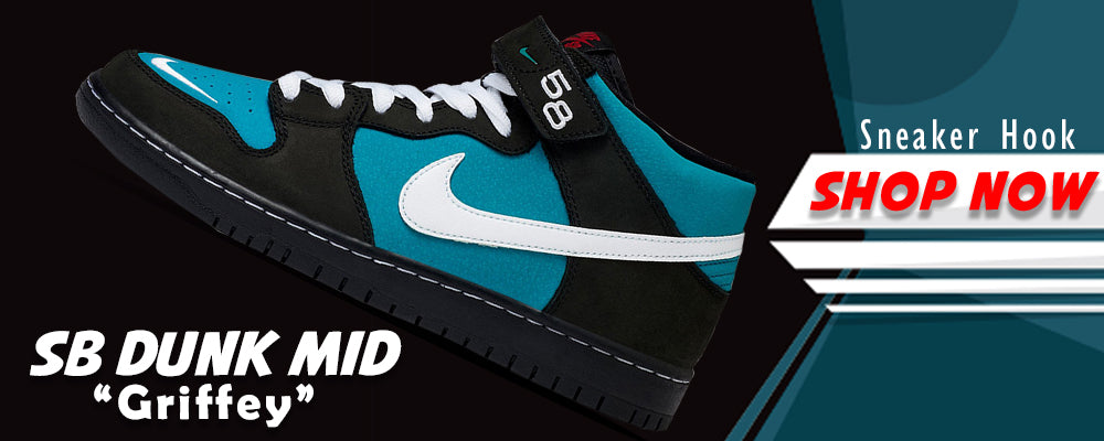 SB Dunk Mid 'Griffey' Clothing to match Sneakers | Clothing to match Nike SB Dunk Mid 'Griffey' Shoes