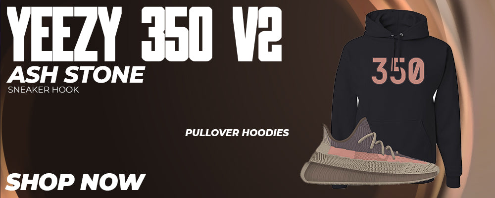 Yeezy 350 v2 Ash Stone Pullover Hoodies to match Sneakers | Hoodies to match Adidas Yeezy 350 v2 Ash Stone Shoes