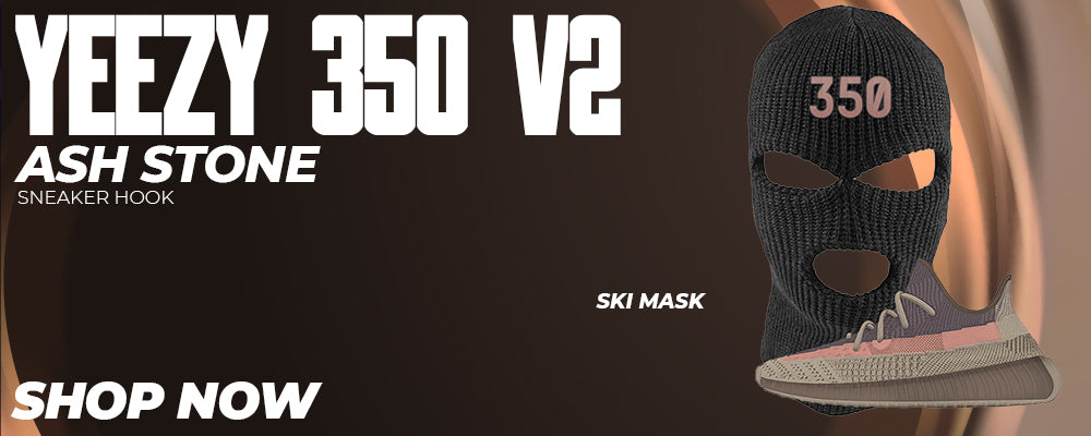 Yeezy 350 v2 Ash Stone Ski Masks to match Sneakers | Winter Masks to match Adidas Yeezy 350 v2 Ash Stone Shoes