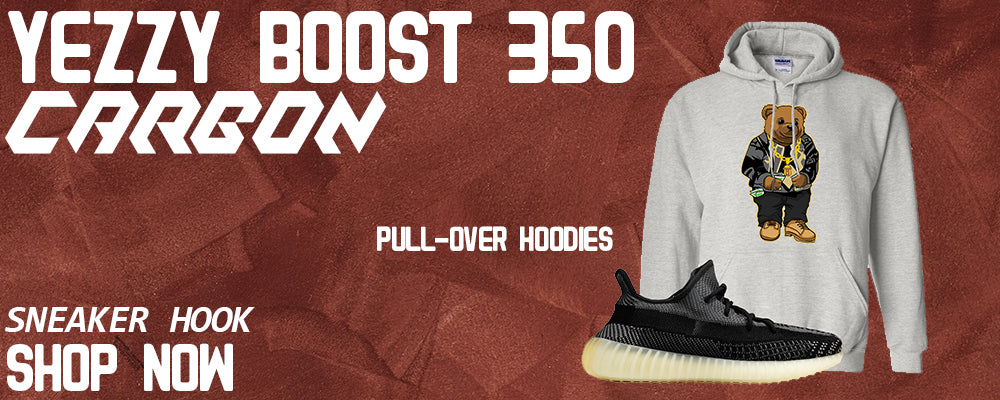 Yeezy Boost 350 v2 Carbon Pullover Hoodies to match Sneakers | Hoodies to match Adidas Yeezy Boost 350 v2 Carbon Shoes