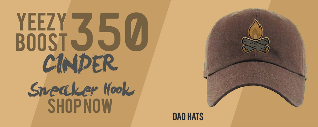 Yeezy Boost 350 V2 Cinder Dad Hats to match Sneakers | Hats to match Yeezy Boost 350 V2 Cinder Shoes