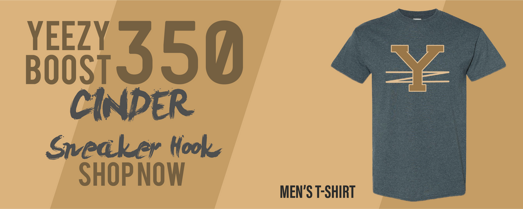 Yeezy Boost 350 V2 Cinder T Shirts to match Sneakers | Tees to match Yeezy Boost 350 V2 Cinder Shoes