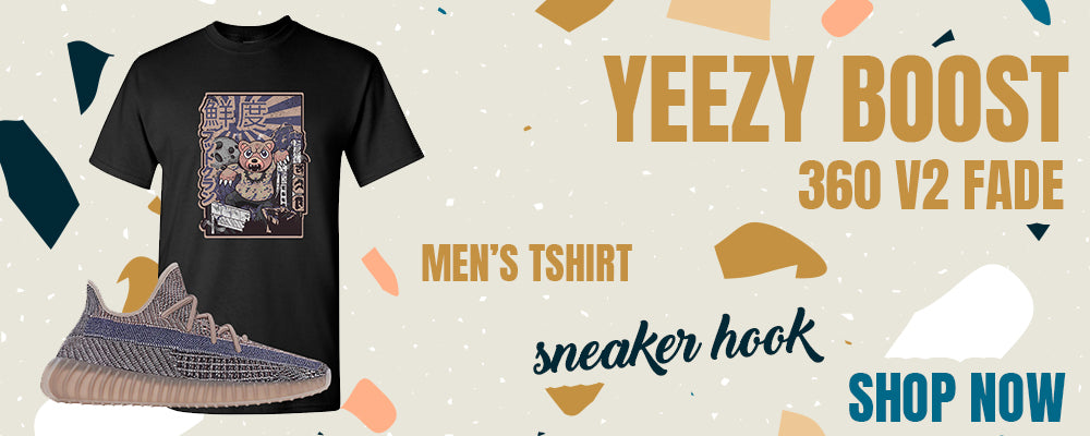 Yeezy Boost 350 V2 Fade T Shirts to match Sneakers | Tees to match Adidas Yeezy Boost 350 V2 Fade Shoes