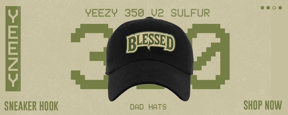 Yeezy 350 v2 Sulfur Dad Hats to match Sneakers   Hats to match Adidas Yeezy 350 v2 Sulfur Shoes