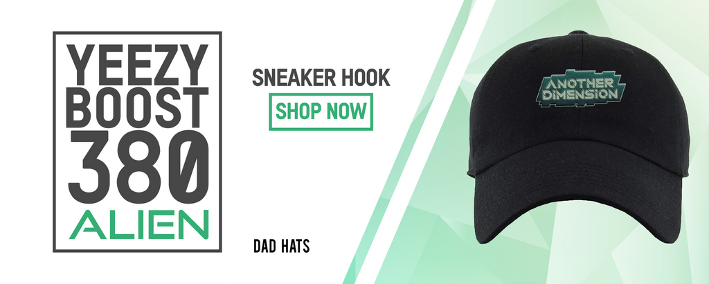 Dad Hats to match with Yeezy Boost 380 Alien Sneakers