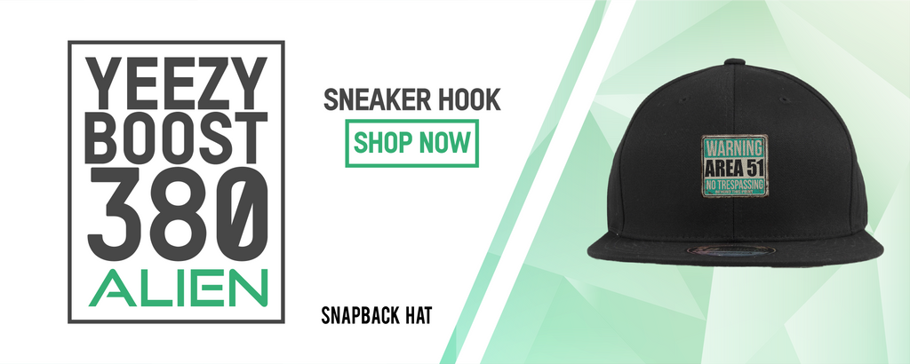 Snapback Hats to match with Yeezy Boost 380 Alien Sneakers
