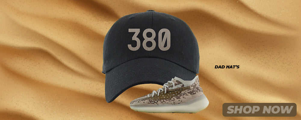 Stone Salt 380s Dad Hats to match Sneakers | Hats to match Stone Salt 380s Shoes