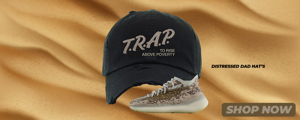 Stone Salt 380s Distressed Dad Hats to match Sneakers | Hats to match Stone Salt 380s Shoes
