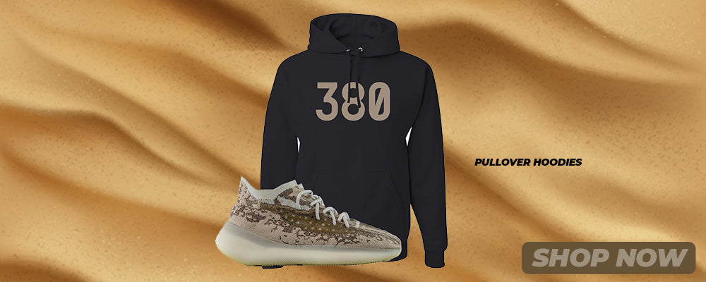 Stone Salt 380s Pullover Hoodies to match Sneakers | Hoodies to match Stone Salt 380s Shoes