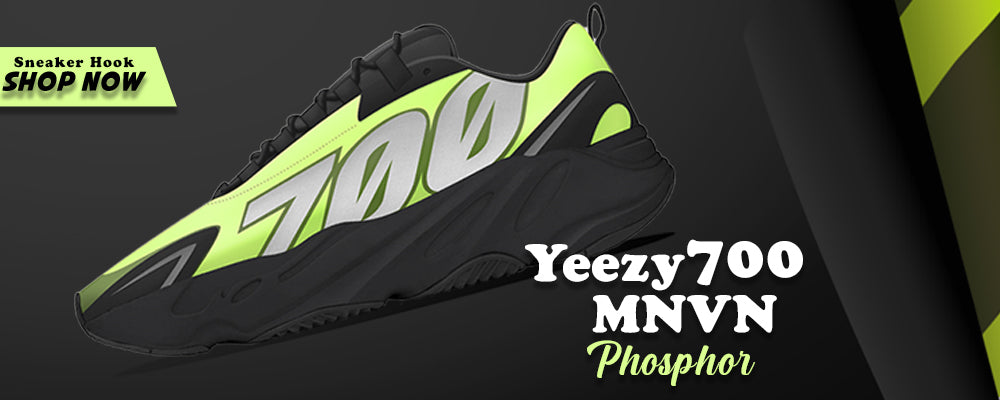 Yeezy 700 MNVN Phosphor Clothing to match Sneakers | Clothing to match Adidas Yeezy 700 MNVN Phosphor Shoes