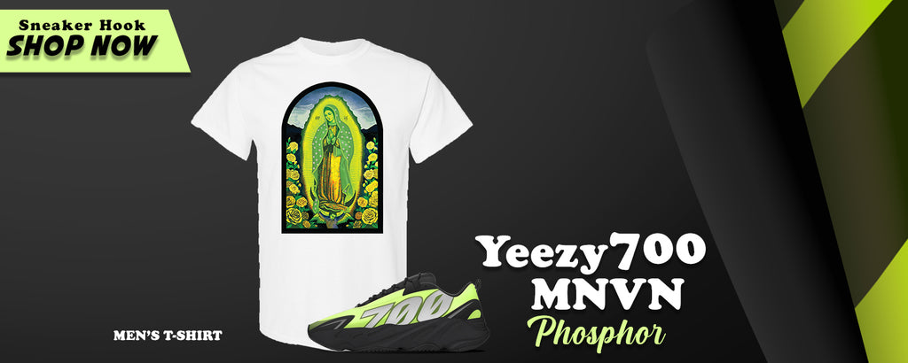 Yeezy 700 MNVN Phosphor T Shirts to match Sneakers | Tees to match Adidas Yeezy 700 MNVN Phosphor Shoes