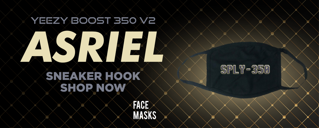Yeezy Boost 350 V2 Asriel Carbon Face Mask to match Sneakers | Masks to match Adidas Yeezy Boost 350 V2 Asriel Carbon Shoes