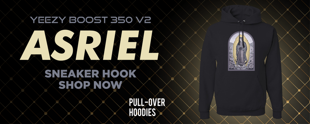 Yeezy Boost 350 V2 Asriel Carbon Pullover Hoodies to match Sneakers | Hoodies to match Adidas Yeezy Boost 350 V2 Asriel Carbon Shoes