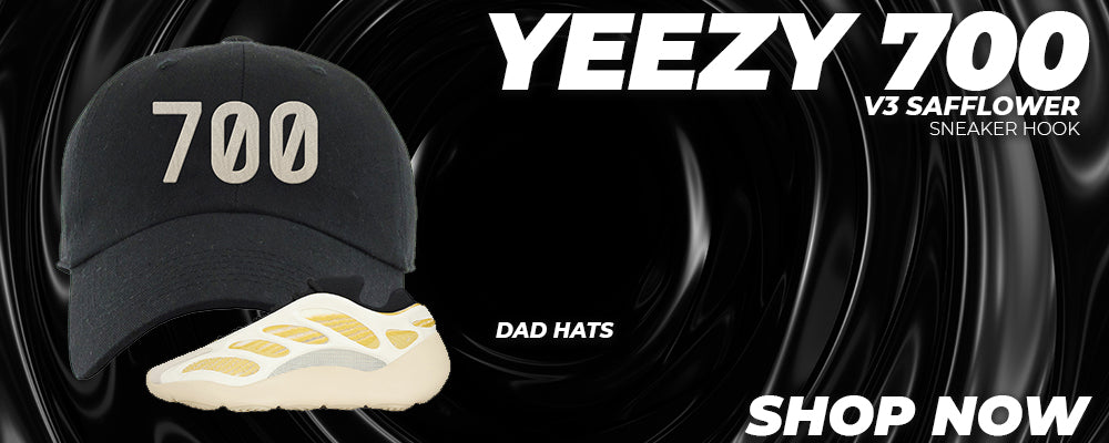 Yeezy 700 V3 Safflower Dad Hats to match Sneakers | Hats to match Adidas Yeezy 700 V3 Safflower Shoes