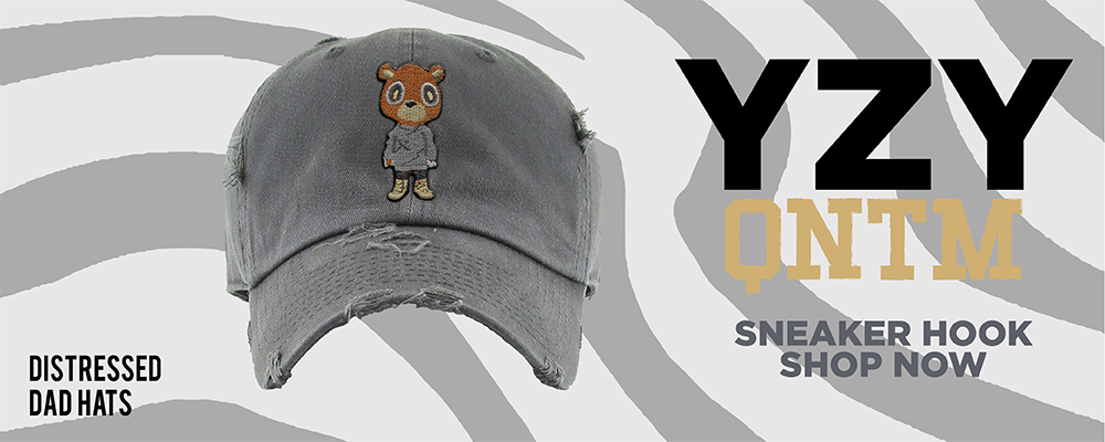 Yeezy Quantum Distressed Dad Hats to match Sneakers | Hats to match Adidas Yeezy Quantum Shoes