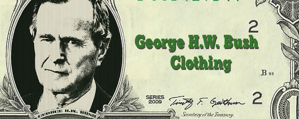 Shop George H.W. Bush Clothing