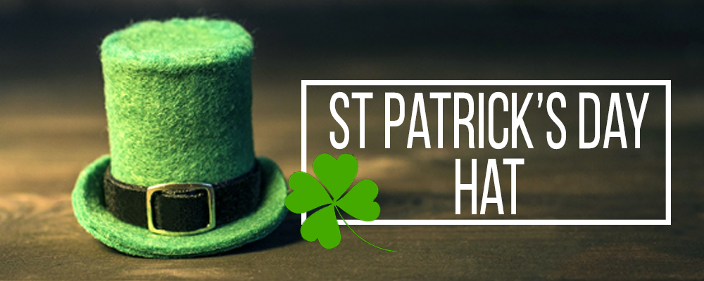 Shop St.Patrick's Day hats to celebrate your Irish pride
