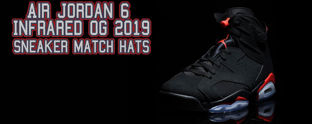 acfb79f89518f Shop Jordan 6 Infrared sneaker matching hats to match your Infrared 6s ...