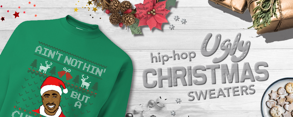 Shop all hip hop ugly christmas sweaters