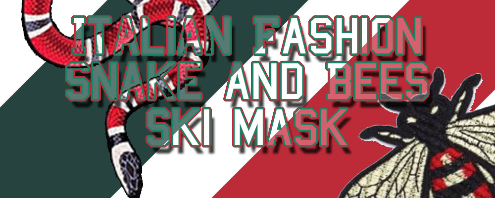 Shop Italian Fashion inspired ski masks