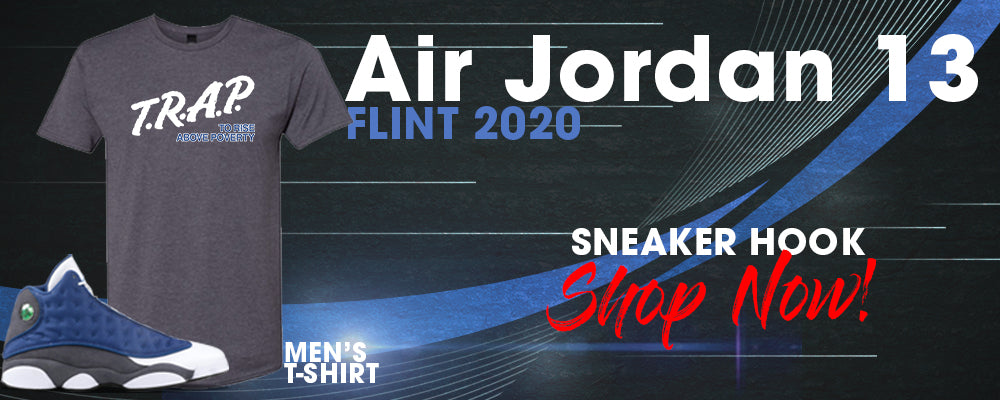 Jordan 13 Flint 2020 T Shirts to match Sneakers | Tees to match Air Jordan 13 Flint 2020 Shoes