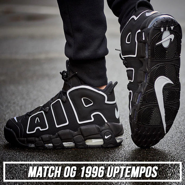 Shop sneaker matching dad hats to match the OG 1996 Scottie Pippen Nike More Uptempo sneakers