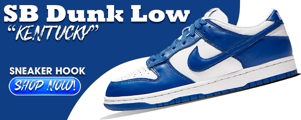 "Dunk Low ""Kentucky"" Clothing to match Sneakers 