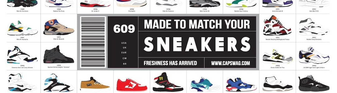 Match your sneakers. Find sneaker matching outfits at capswag.com