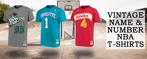 fe22a1bd3 shop the whole selection of vintage name and number t-shirts. Mitchell and  Ness  Atlanta Hawks  Spud Webb ...