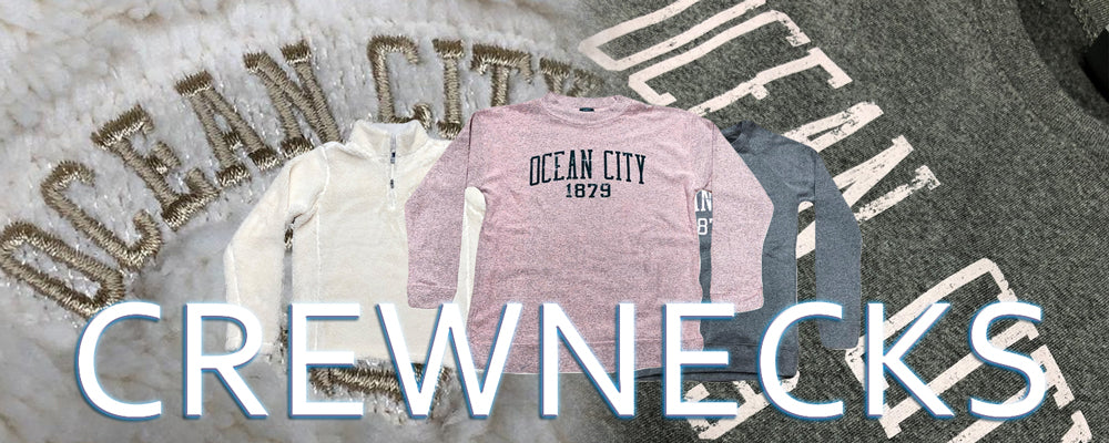 Shop all Ocean City New Jersey crewneck sweatshirts