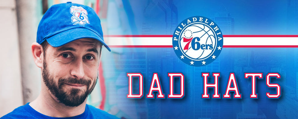 Shop all Philadelphia 76ers dad hats