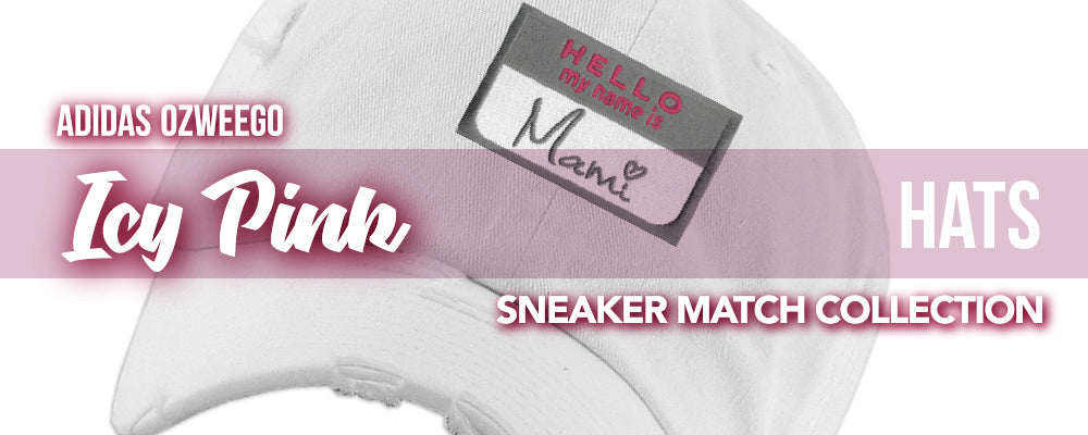 Adidas WMNS Ozweego Icy Pink Sneaker Matching Hats